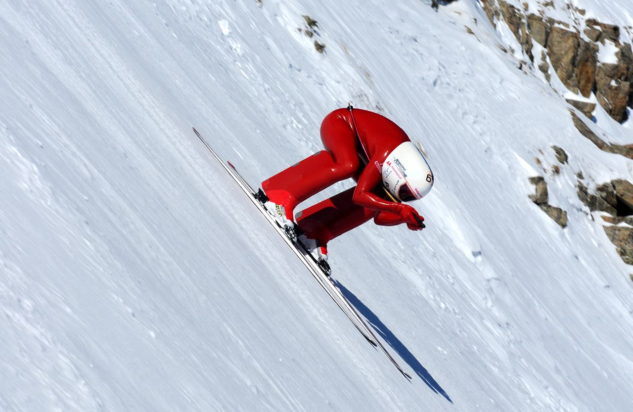 Image result for speed skiing